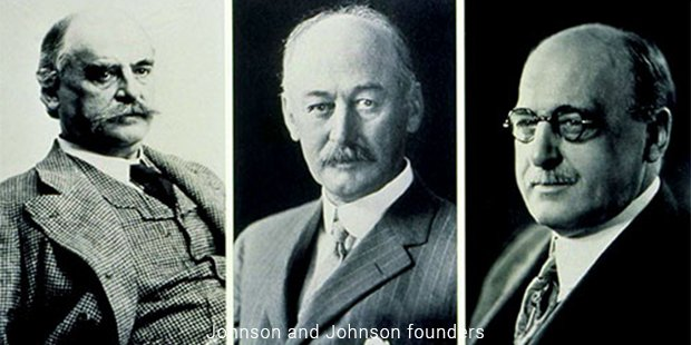 johnson and johnson founders