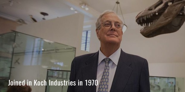 Joined in Koch Industries in 1970