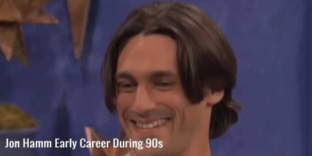 jon hamm early career during 90s