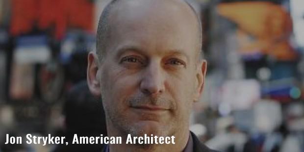 jon stryker, american architect