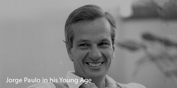 Jorge Paulo Lemann in his Young Age