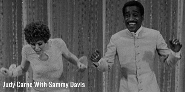 judy carne with sammy davis