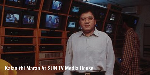 kalanithi maran at sun tv media house