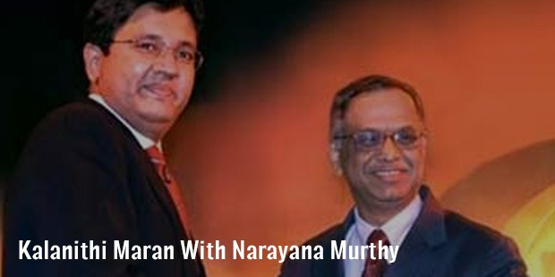 kalanithi maran with narayana murthy