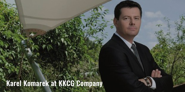 karel komarek at kkcg company