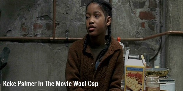 keke palmer in the movie wool cap