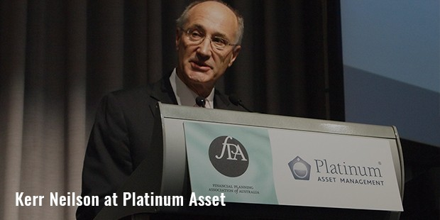 kerr neilson at platinum asset