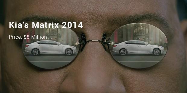 kia's matrix 2014