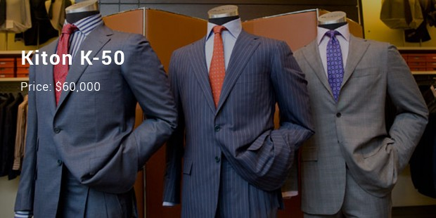 10 Most Expensive/ Priced Suits List | SuccessStory