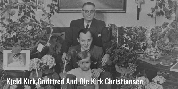 kjeld kirk,godtfred and ole kirk christiansen