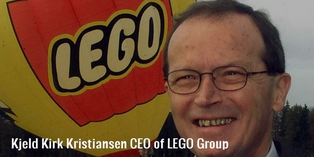 kjeld kirk kristiansen ceo of lego group