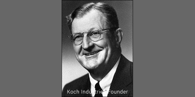 koch industries founder