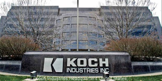koch industries headquarters united states