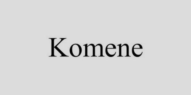 komane