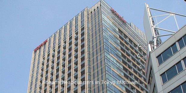 konami headquarters in tokyo midtown