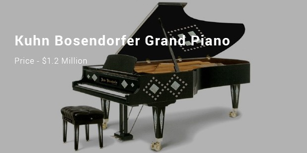 kuhn bosendorfer grand piano