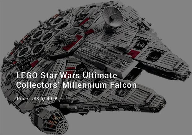 lego star wars ultimate collectors millennium falcon