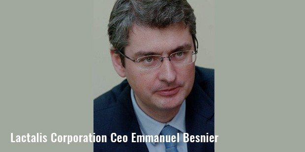 lactalis corporation ceo emmanuel besnier