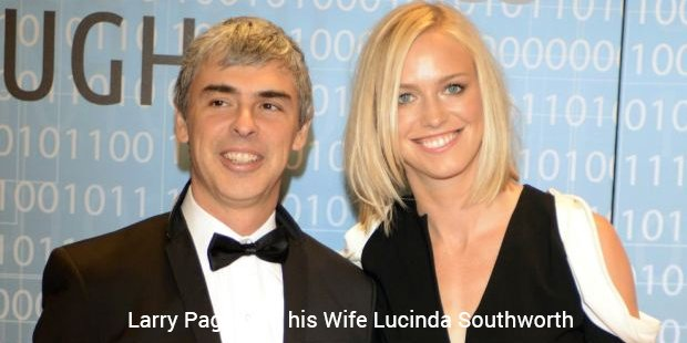 larry page with his wife lucinda southworth