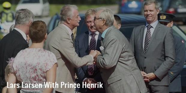 lars larsen with prince henrik