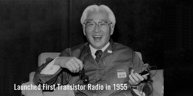 Launched First Transistor Radio in 1955