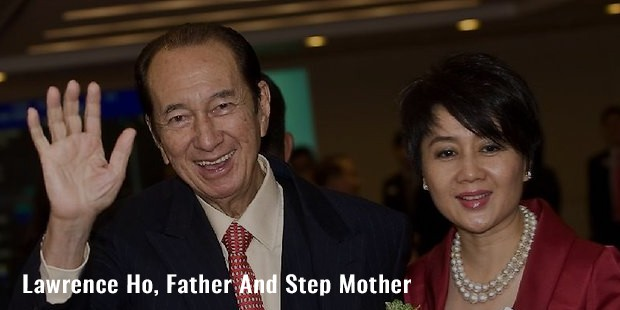 lawrence ho, father and step mother