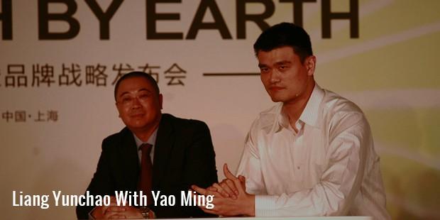 liang yunchao with yao ming
