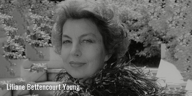 liliane bettencourt young 2