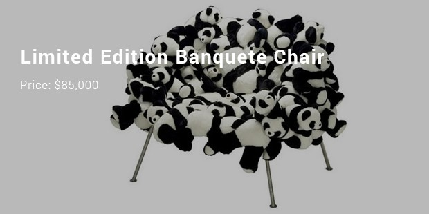 limited edition banquete chair