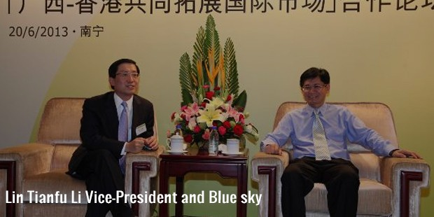 lin tianfu li vice president and blue sky