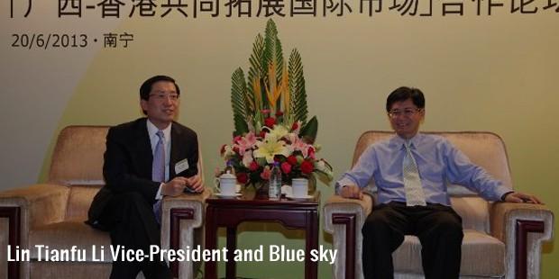 lin tianfu li vice president and blue sky