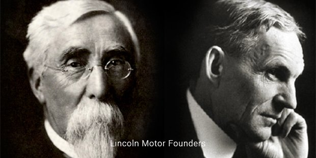 lincoln motor founders