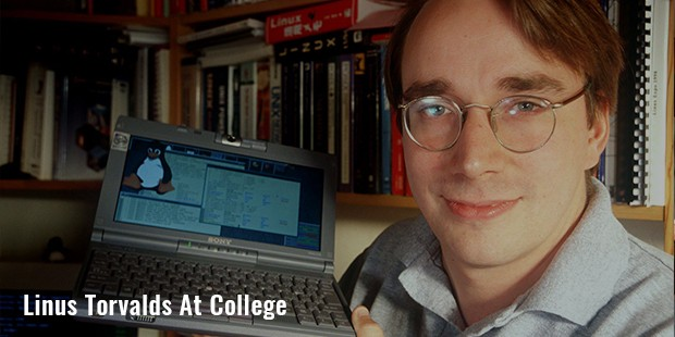 linus torvalds at college