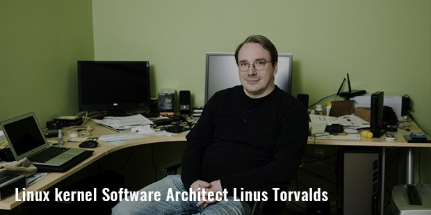 linux kernel architect linus torvalds