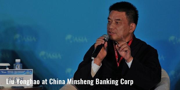 liu yonghao aat china minsheng banking corp