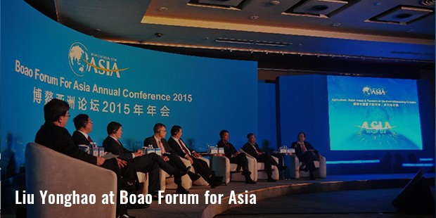 liu yonghao at boao forum for asia