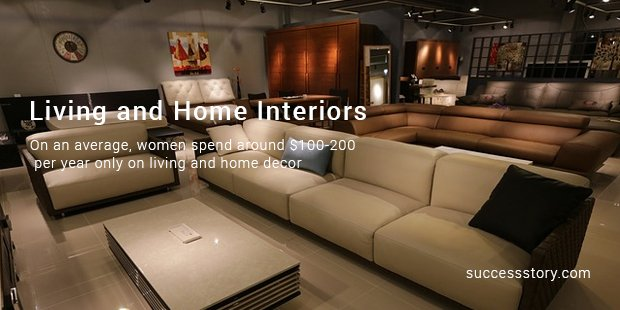 living and home interiors