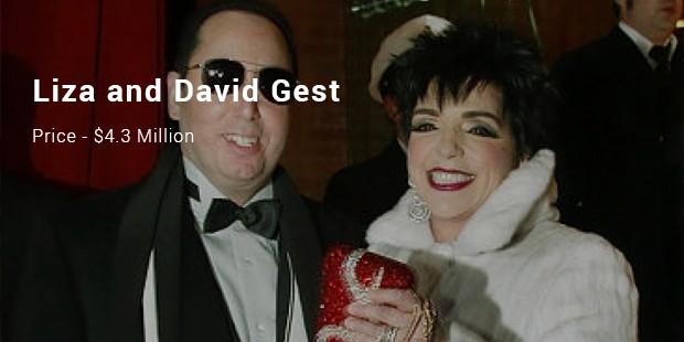 liza and david gest