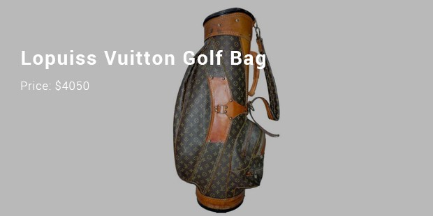 lopuiss vuitton golf bag