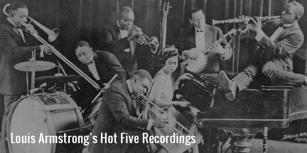 louis armstrong's hot five recordings