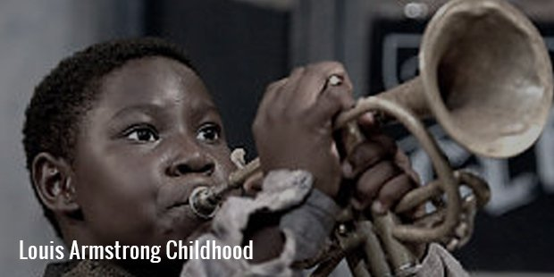 louis armstrong childhood