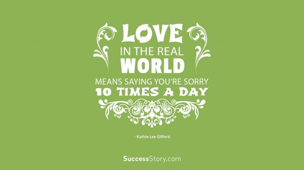 love in the real world mean