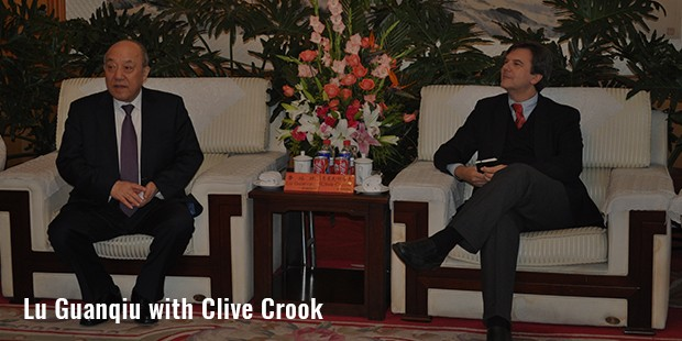 lu guanqiu with clive crook