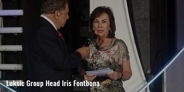 luksic group head iris fontbona