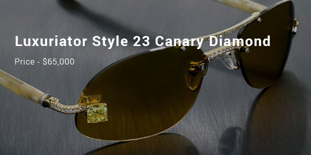 luxuriator style 23 canary diamond