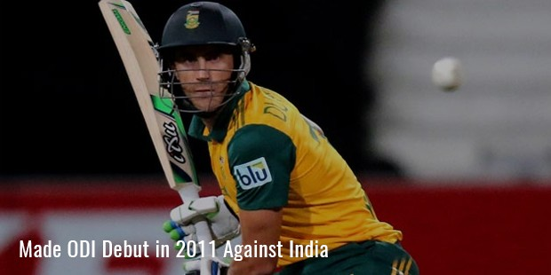 made odi debut in 2011 against india