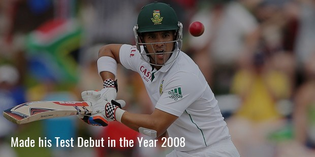 made his test debut in the year 2008