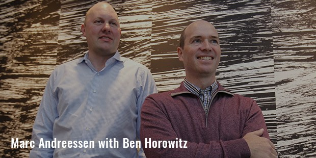 marc andreessen with ben horowitz
