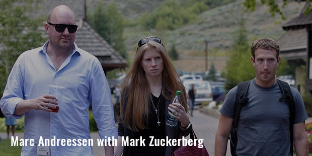 marc andreessen with mark zuckerberg