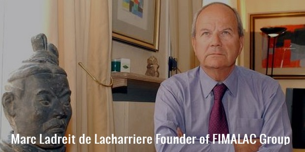marc ladreit de lacharriere founder of fimalac group